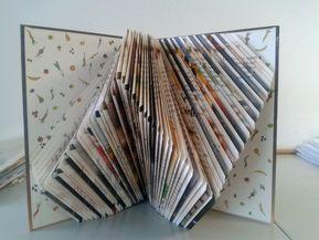Mit Orimoto (Bücher falten) wird aus einem alten Buch eine neue Dekoration Vor kurzem habe ich Orimoto – die Kunst des Bücher falten – entdeckt. Orimoto ist abgeleitet von Origami (Ori = falten, moto = Buch).Das erste gefaltete Buch, das ich gesehen habe, hatte eine Freundin