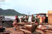 Boat crews at Ha Tien