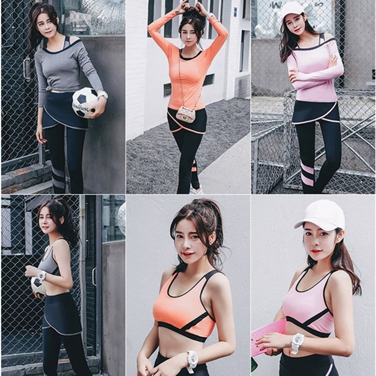 49.80$  Watch here - http://alip0a.shopchina.info/go.php?t=32801835834 - Donne yoga 3 set reggiseno + pantaloni di fitness workout abbigliamento e donne palestra sport corsa delle ragazze slim leggings  #buychinaproducts