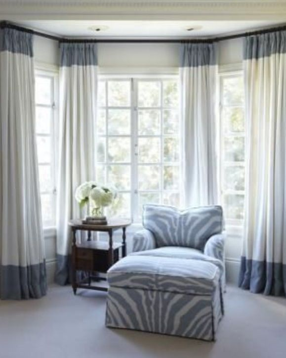 Window Treatments Make A Living Room And Bay Look Good Of Course Not All Windows Are In The Some Bedroom There