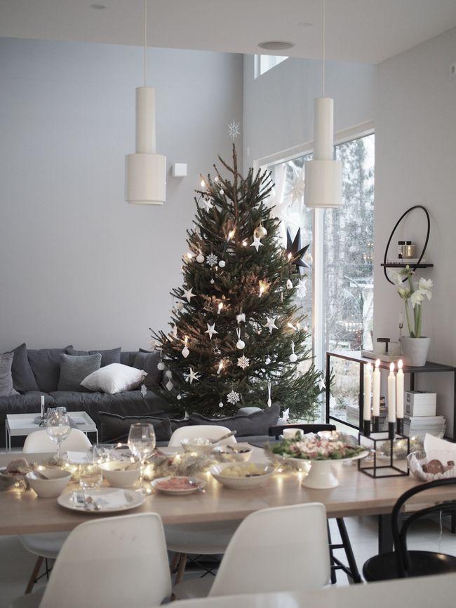 Tämä oli nyt sitten ensimmäinen joulu uudessa kodissa. Olemme aina olleet sukulaisten luona Etelä-Pohjanmaalla jouluaattona, mutta nyt ...