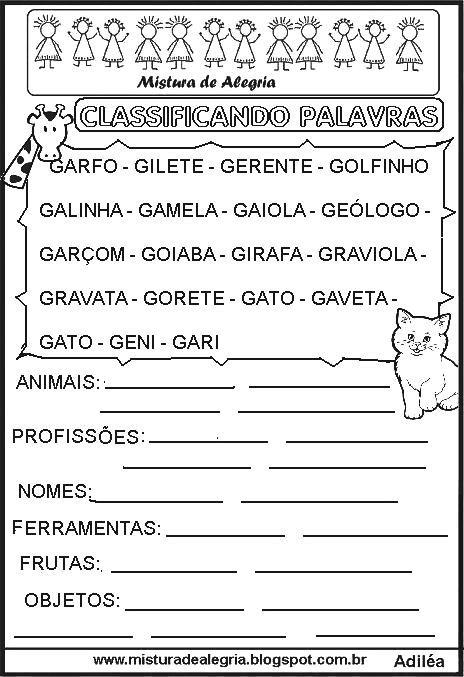 sequ%C3%AAncia-classificando-palavras-letra+G-imprimir-colorir.JPG (464×677)
