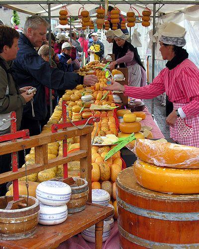Cheese Market, Alkmaar, The Netherlands.  Photo: Chilkoot via Flickr.