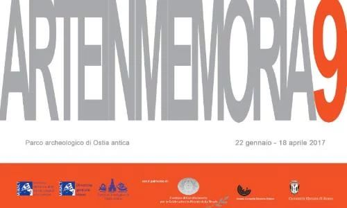 Arte in Memoria 9 Mostra parco Archeologico Ostia – ARTE CON RESTAURO