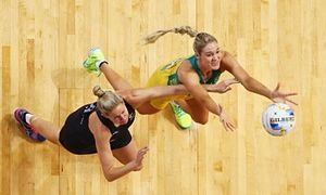 Caitlin Bassett slotted 38 goals for the Diamonds but that was not enough to inspire a win against an impressive Silver Ferns team.
