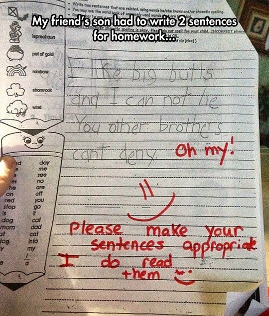 I Can See The Teacher's Frustration  // funny pictures - funny photos - funny images - funny pics - funny quotes - #lol #humor #funnypictures