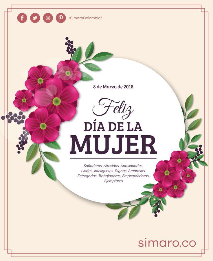 Bellas, inteligentes, luchadoras y sobre todo únicas. Feliz día Internacional de la Mujer 👩🏻👩🏻⚕👩🏻🌾👩🏻🍳👩🏻🎓👩🏻✈👩🏻🚒  http://simaro.co/ #DiaDeLaMujer #WomensDay #WomensSaleSimaro #SuperWoman #March8th @SimaroColombia #SimaroColombia #SimaroCo 🇨🇴#LoEncontramosPorTi #SimaroBr 🇧🇷 #SimaroMx 🇲🇽 #TiendaOnline #ECommerce