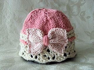 Gardener Pink Cloche on ravelry