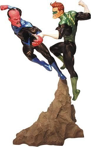 Green Lantern vs. Sinestro Statue by DC Direct. $324.00. Designed by Carlos PachecoSculpted by Tim Bruckner GREEN LANTERN: REBIRTH brought Hal Jordan back to resume the mantle of Green Lantern. However, his arch-nemesis Sinestro has also returned, reigniting their long-standing conflict. This highly detailed statue - designed by new GREEN LANTERN series artist Carlos Pacheco and sculpted by the acclaimed Tim Bruckner - features these two bitter enemies locked in combat! This...