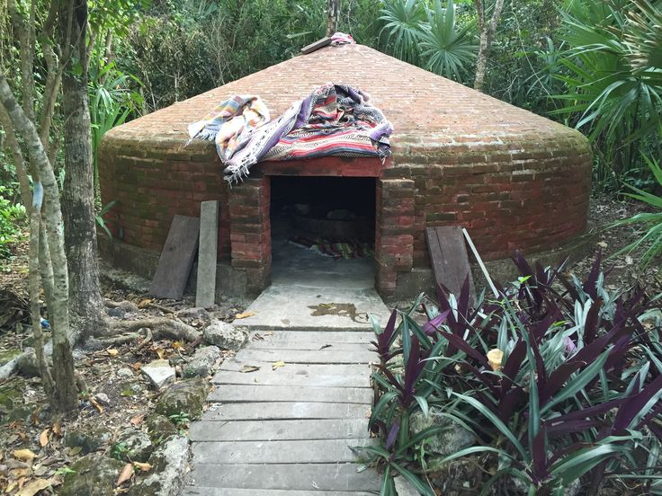 One of the coolest excursions I've done here in Cozumel was a visit to a Temazcal - Mayan Steam Lodge. Sweat out toxins, and some skeletons, if you're committed.