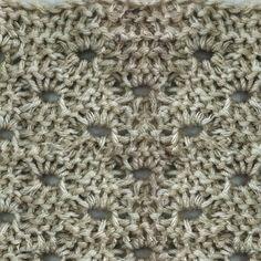 My Tunisian Crochet: Lace Stitches
