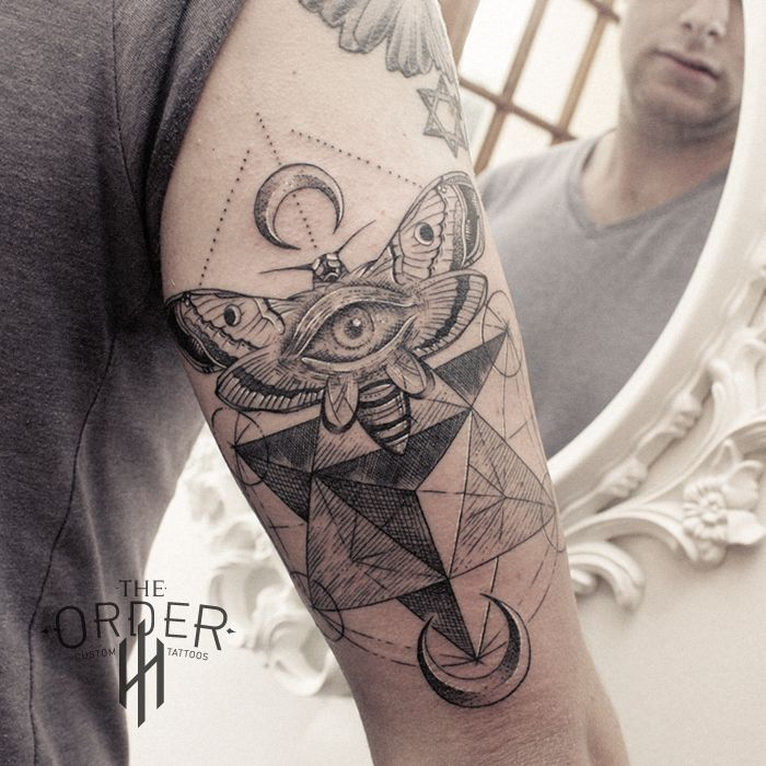 134 best the order custom tattoos tattoos images on for Tattoo line work