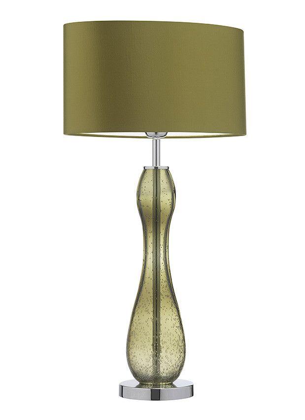 Fado natural green table lamp