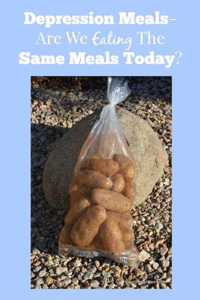 Depression Meals-Are We Eating The Same Meals Today | via www.foodstoragemoms.com