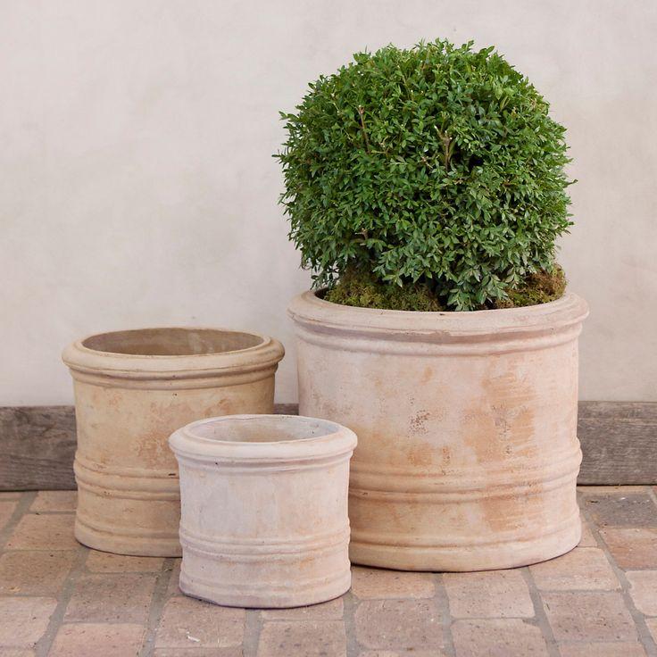 All Weather Wicker Taper Planter in Garden Baskets + Metals at Terrain