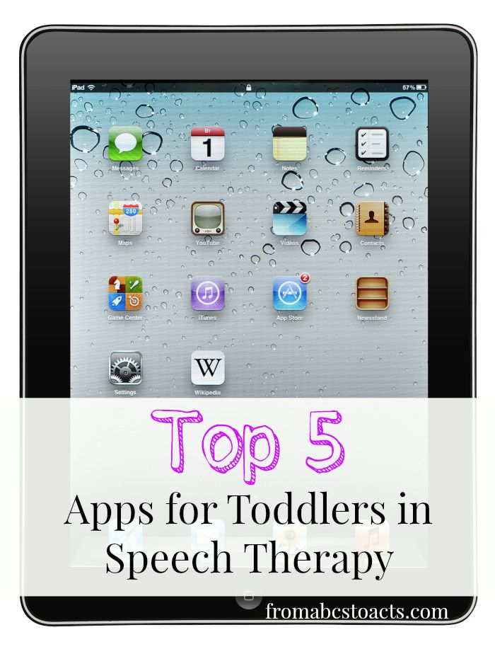 When used correctly, technology can be a great resource for teaching your child. Check out our top 5 iPad apps for toddlers in speech therapy.
