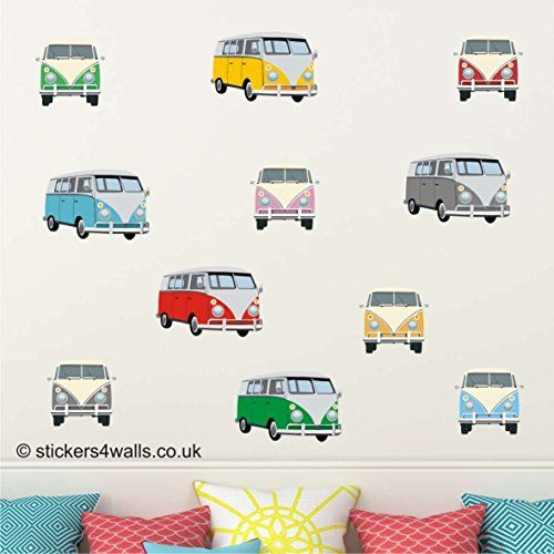 CAMPERVAN FRONT & SIDE VIEW MULTICOLOURED WALL STICKERS: ... https://www.amazon.co.uk/dp/B01F7DENXY/ref=cm_sw_r_pi_dp_-dmIxb74VNMJ0