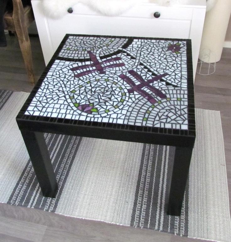 mosaic table mosaiikkipöytä