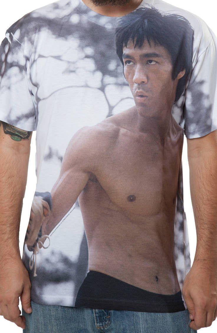 Sublimation Bruce Lee T-Shirt: Actors, Bruce Lee Mens T-shirt