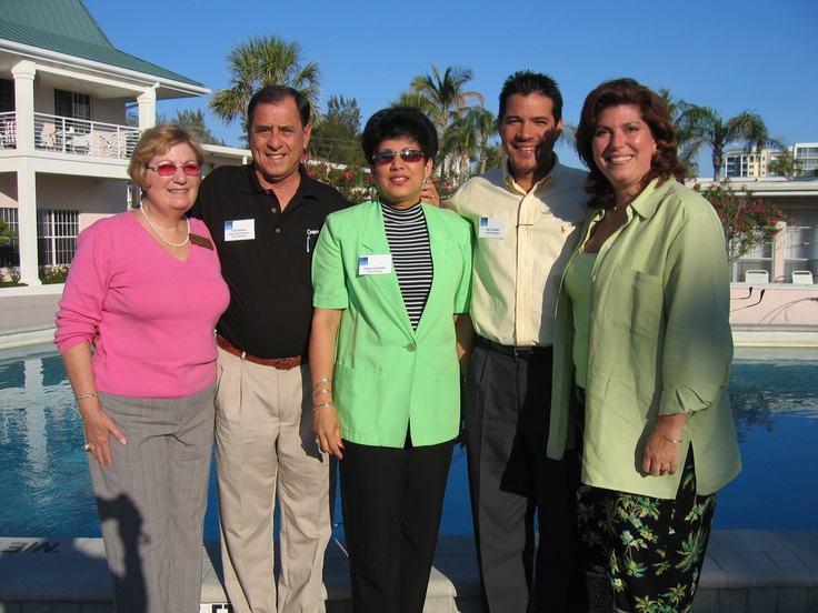 Coral Spring delegation at the Florida Sister Cities State Conference at the Helmsley Sandcastle on Lido Key in Sarasota in 2005