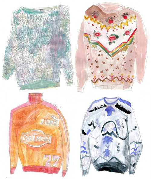 My Really Loud Sweater Collection - Doodlers Anonymous
