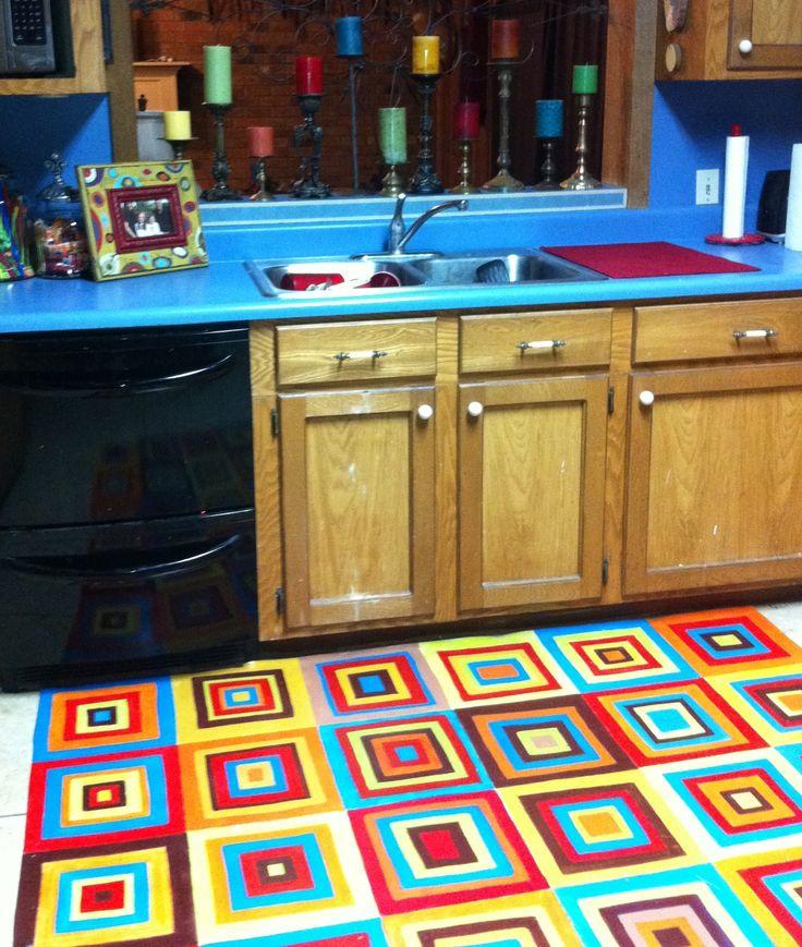 Kitchen Vinyl Rug