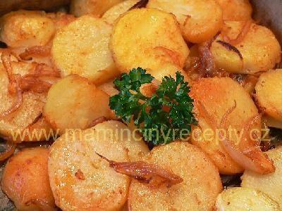 Paprikové brambory