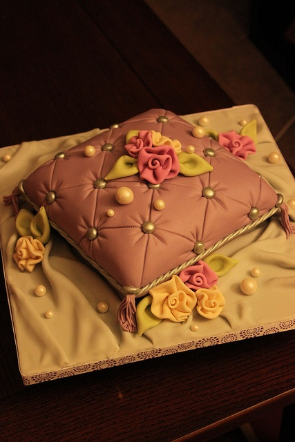 Pillow cake by Andrea's SweetCakes, via Flickr