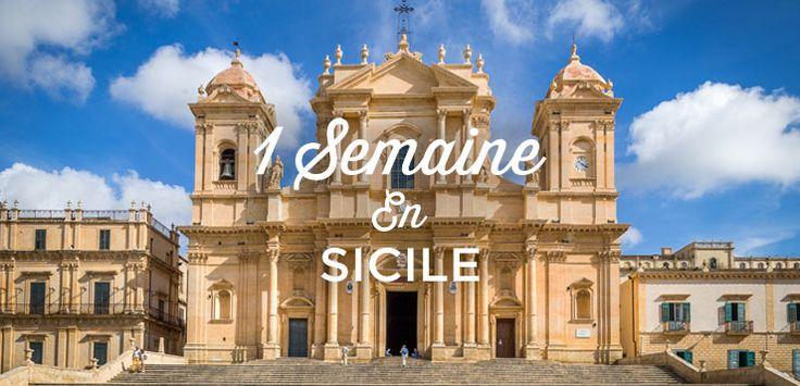 Itinéraire voyage d'une semaine en Sicile. Ce circuit d'1 semaine vous permettra de découvrir la côte est de la Sicile et les villes de Syracuse, Taormina et Catane.