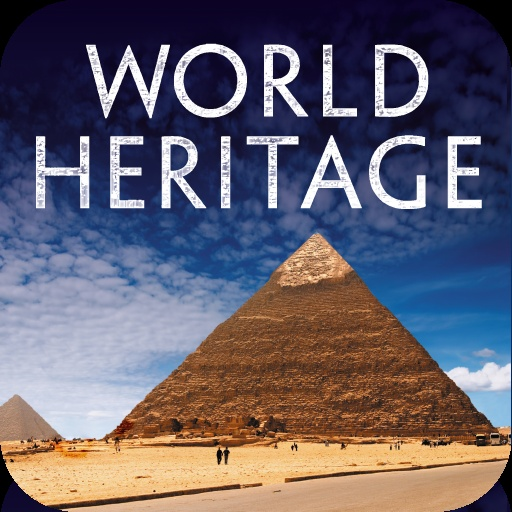 First icon for the UNESCO World Heritage app
