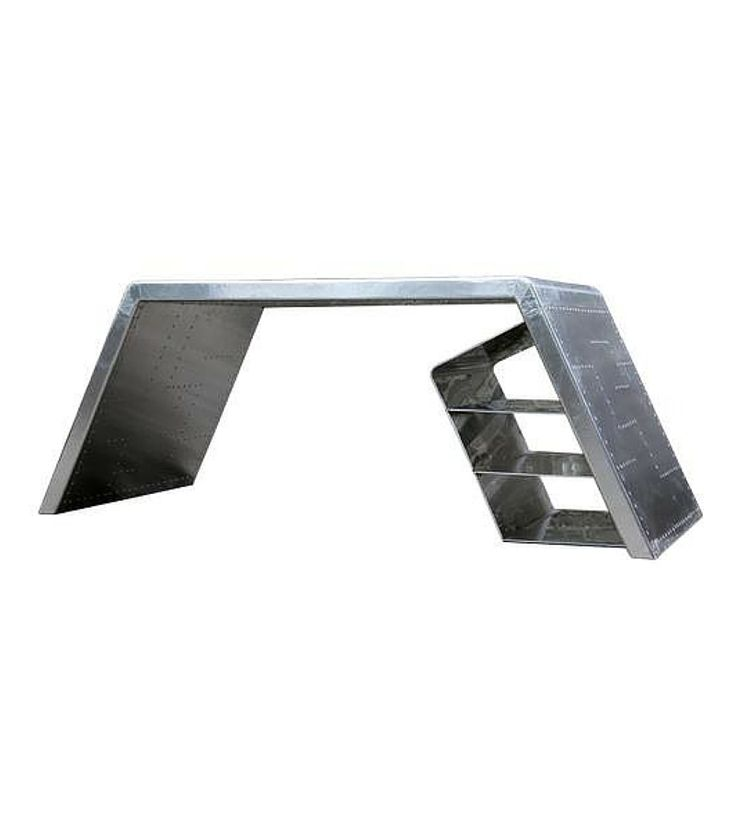 Vector Aluminium Desk – Onske Interiors