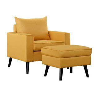 Yellow Accent Chairs You'll Love | Wayfair