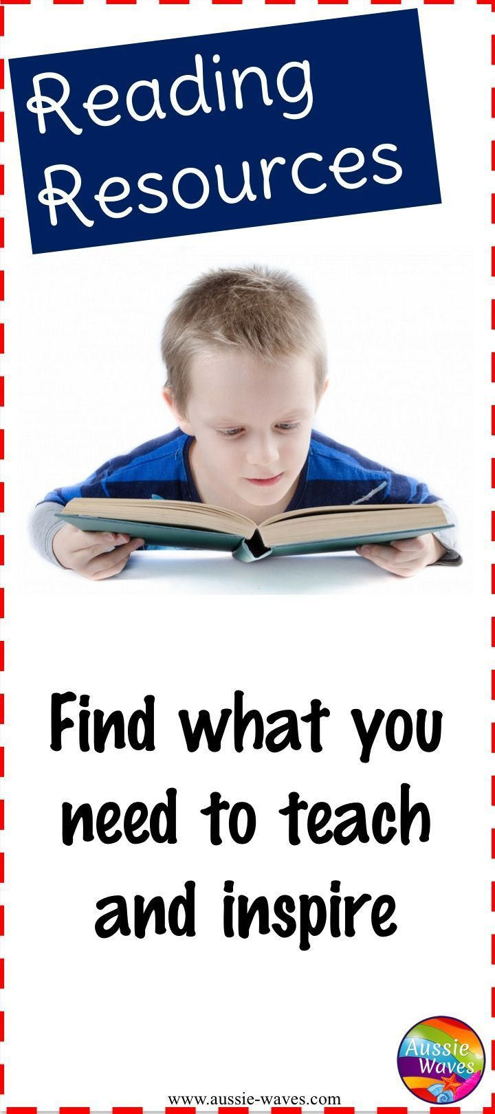 Find a great choice of printable resources to help you teach and inspire kids to read.