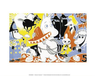 The Moomins Print by Tove Jansson | on StarEditions.com - Wholesale Prints