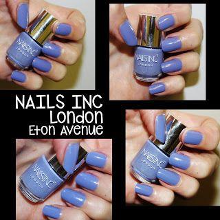 MichelaIsMyName: NOTD // Nails INC London in Eton Avenue