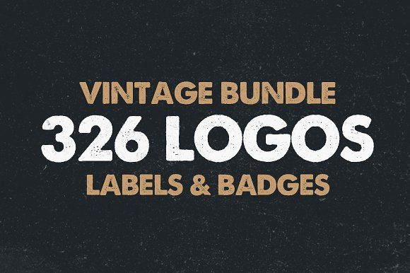 @newkoko2020 MEGA BUNDLE 326 Vintage Logos Badges by DesignDistrict on @creativemarket #bundle #set #discout #quality #bulk #buy #design #trend #vintage #vintagegraphic #graphic #illustration #template #art #retro #icon