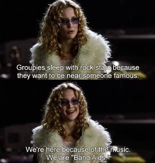 """You don't believe in labels. 