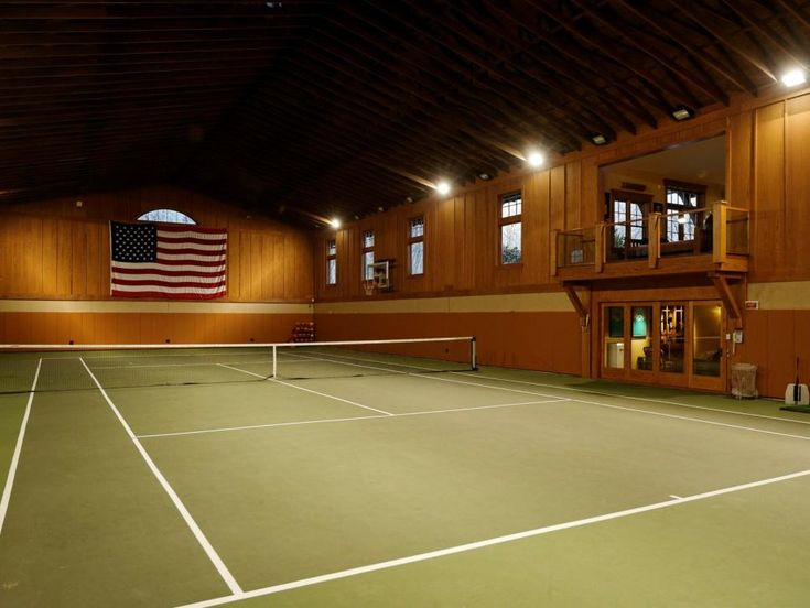 Indoor Tennis Court Ron Howard House For Sale