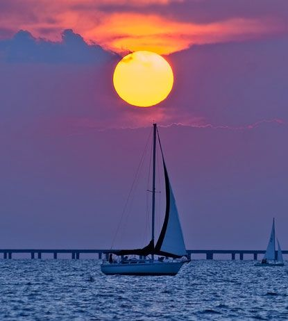 Lake Pontchartrain is the largest lake in Louisiana and the second largest saltwater lake in the U.S. It is actually an estuary,it is a partially enclosed coastal body of water with at least one river spilling into it and open access to the ocean. It's beautiful!