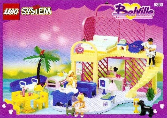 5890-1: Pretty Wishes Playhouse | Brickset: LEGO set guide and database