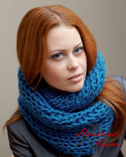 Návod na pletenie | Pletený šál