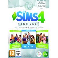 Electronic Arts De Sims 4 - Bundel Pack 5 (Code in a Box) (1032053)  Voeg meer manieren om te spelen toe met de De Sims 4 Bundle Inclusief 1 Game Pack en 2 Accessoirespakketten. Word eigenaar van een restaurant en neem je Sims mee uit eten nodig je vrienden uit voor een filmavondje en leg een weelderige romantische tuin aan. Voeg meer manieren om te spelen toe aan De Sims 4 Inclusief 1 Game Pack en 2 Accessoirespakketten: - De Sims 4 Uit Eten. - De Sims 4 Filmavond Accessoires. - De Sims 4…