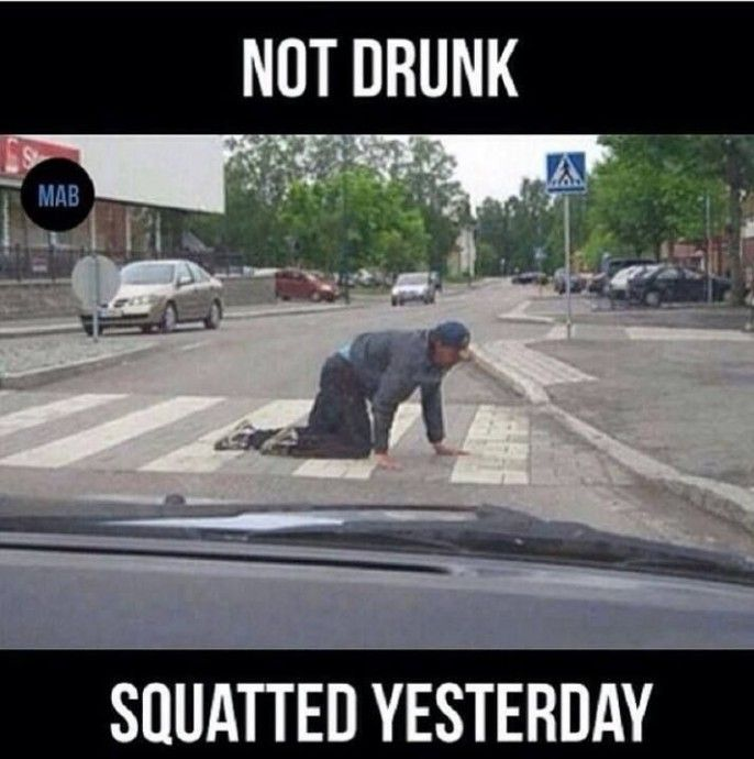 15 Leg Day Memes That Are Incredibly Funny, Squat meme