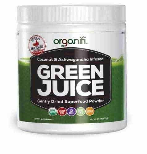 Organifi Gently Dried Superfood Greens Powder. Now you can get all your healthy superfoods in one glass with No Shopping, No Blending, No Juicing. Order Now
