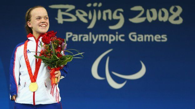 Paralympics 2012: ParalympicsGB given London medal targets.  Britain's Paralympic team have been set a minimum medal target by UK Sport of 103 from at least 12 sports at the London Games.  UK Sport has also confirmed that the aim is to maintain second place in the medal table.  In Beijing four years ago, GB finished with 102 medals , including 42 golds from 11 sports, and were second behind China who won 89 golds. The London Games begin on 29 August and will run until 9 September.