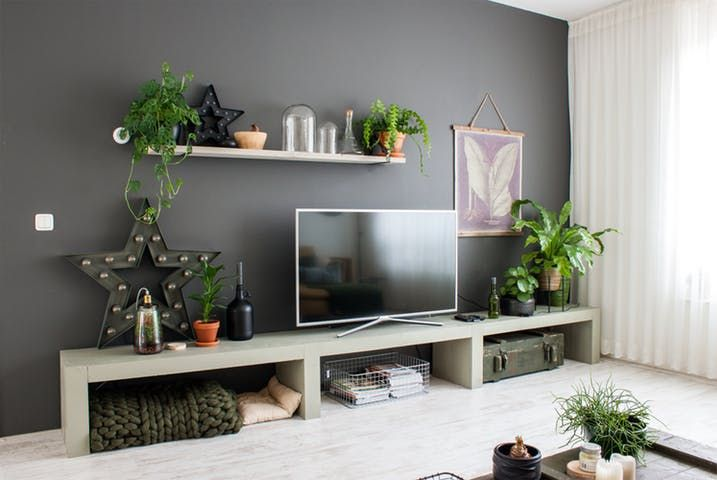 Textures, clever DIYs and lovely macrame fill this modern home in the Netherlands.