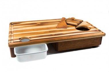 Tábua artesanal para Churrasco Inteligente Master Grill