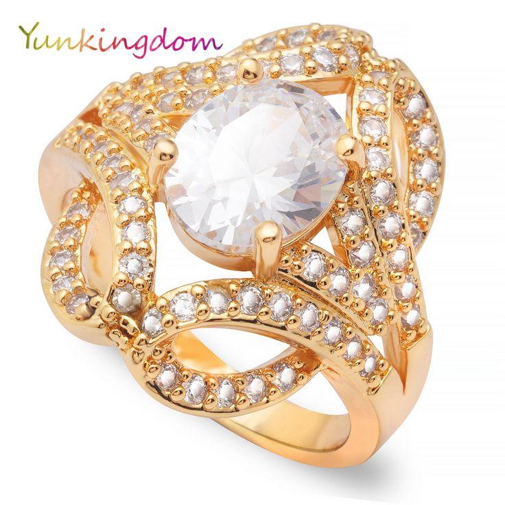 Vintage Luxe Trouwringen Voor Vrouwen Sieraden Accessoires Nobele Beroemdheden Avondfeest Ringen