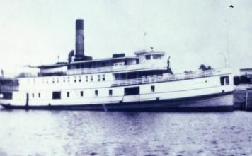 The last large steamer to enter service on the St. John River was the Westchester.  She served from 1930 till 1938 then was transferred in the latter year to the St. Lawrence River.