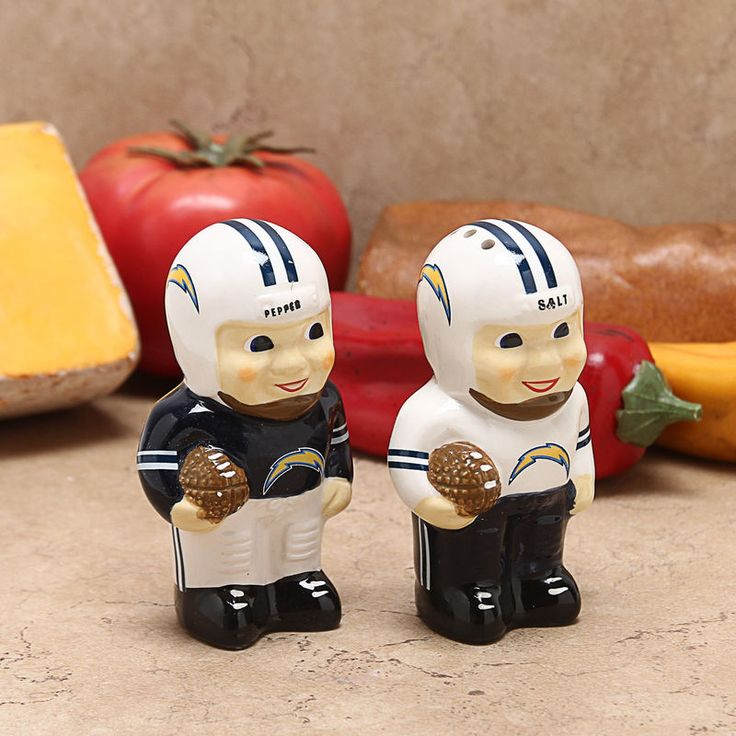 Los Angeles Chargers Player Salt and Pepper Shakers